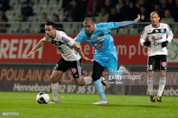 Aurelien FAIVRE / Carl MEDJANI - - Vannes / Ajaccio - 25e journee Ligue 2,