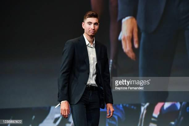 Aurelien PARET PEINTRE during the presentation of the Tour de France 2022 at Palais des Congres on October 14, 2021 in Paris, France.