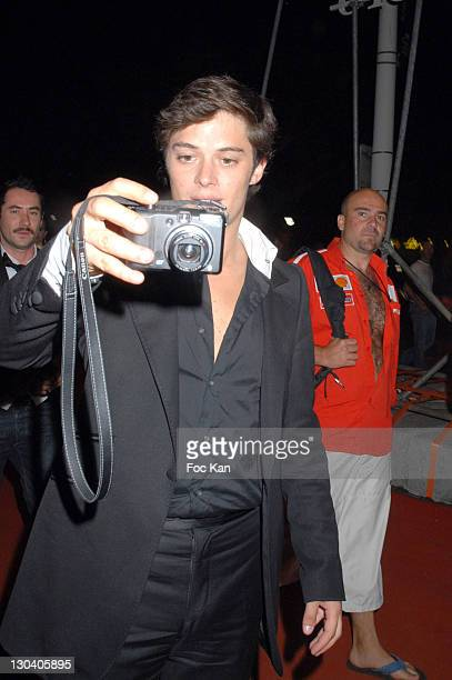 Aurelien Wick during 2007 Cannes Film Festival Karl Lagerfeld Exhibition Opening at Espace Canal in Cannes France