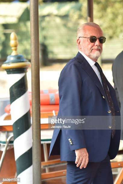 Aurelio De Laurentiis is seen during the 74 Venice Film Festival on August 30 2017 in Venice Italy