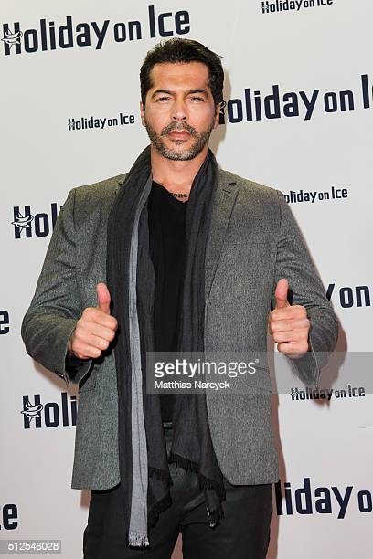 Aurelio Savina attends the Berlin premiere of the show 'Holiday on Ice Passion' on February 26 2016 in Berlin Germany