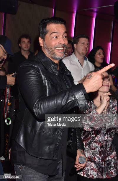 Aurelio Savina during the Giulia song release party at Cheshire Cat Club on March 29 2019 in Berlin Germany