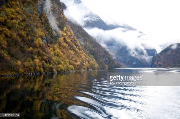 Aurlandsfjord Autumn Colour, Norway