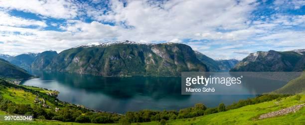Aurlands-Fjord Panorama