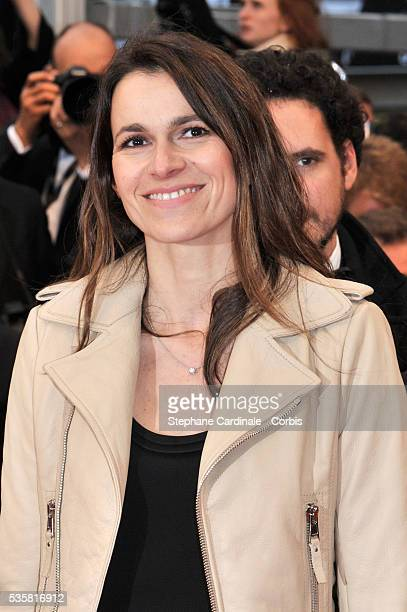 """Aurélie Filippetti at the premiere for """"Amour"""" during the 65th Cannes International Film Festival."""
