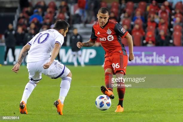 BMO FIELD TORONTO ONTARIO CANADA Auro during 2018 MLS Regular Season match between Toronto FC and Orlando City SC at BMO Field