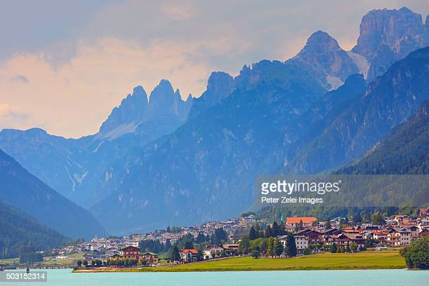 auronzo di cadore in italy - belluno stock pictures, royalty-free photos & images