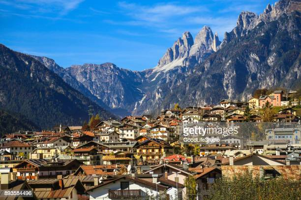 auronzo di cadore - belluno stock pictures, royalty-free photos & images