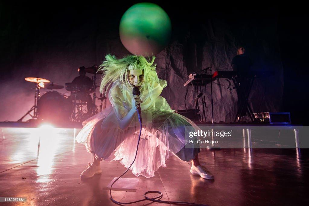 Aurora Concert In Oslo : ニュース写真