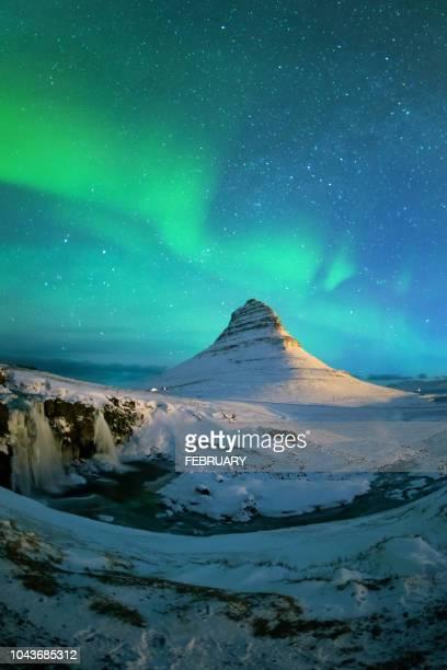 aurora at iceland - televisão de alta definição - fotografias e filmes do acervo