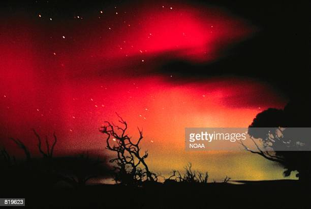 Aurora Australis, the Southern Lights as seen from South Australia as with Aurora Borealis, are displayed during strong geomagnetic events. According...