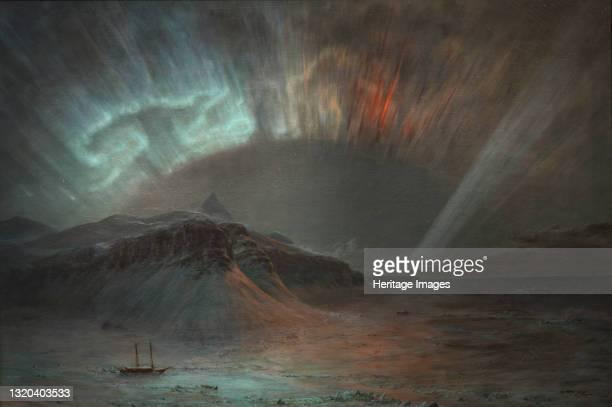 Aurora Borealis, 1865. Artist Frederic Edwin Church.