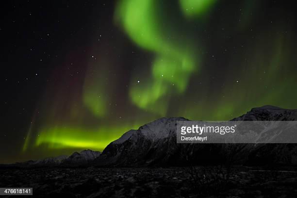 Aurora Borealis - burning mouintains