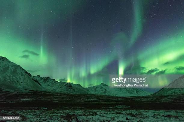 Aurora borealis Canada