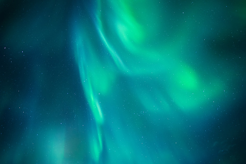 Aurora borealis during the night in Iceland - gettyimageskorea