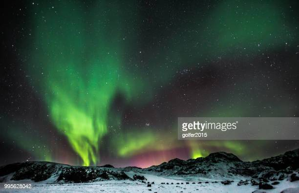 Aurora Borealis - See Kleifarvatn - Island