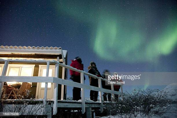 Aurora Borealis - Northern lights in Greenland