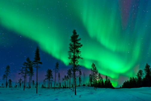 Aurora Borealis  Northern Lights Sweden - gettyimageskorea