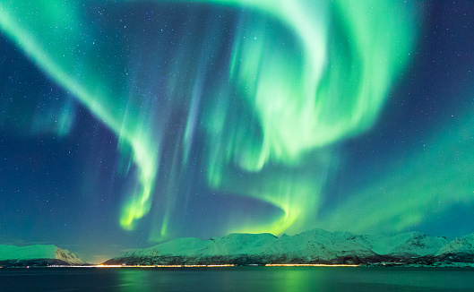 Aurora Borealis, Norway - gettyimageskorea