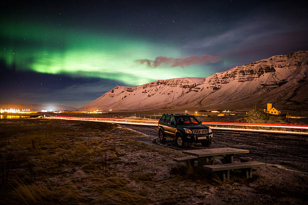Aurora Borealis Or Northern Lights, Iceland Wall Art