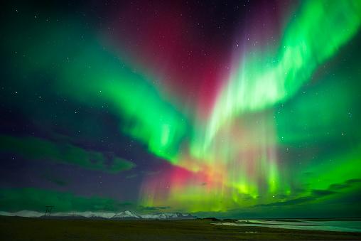 Aurora Borealis or Northern Lights, Iceland - gettyimageskorea