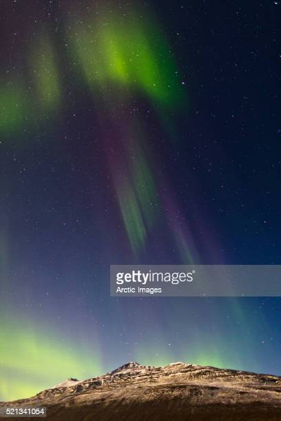 Aurora borealis or Northern Lights, Northern Iceland