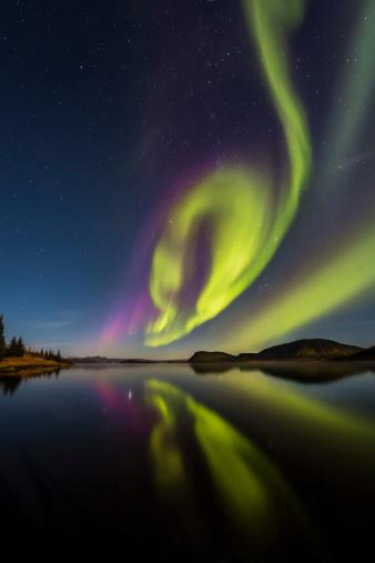 Aurora Borealis or Northern lights - gettyimageskorea