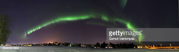 Aurora Borealis (Northern Lights) over Oulu