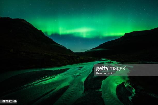 aurora borealis - marginata stock pictures, royalty-free photos & images