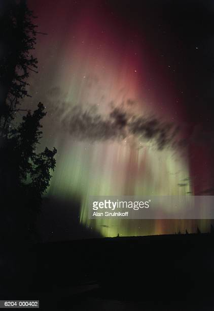 aurora borealis - sirulnikoff stock pictures, royalty-free photos & images