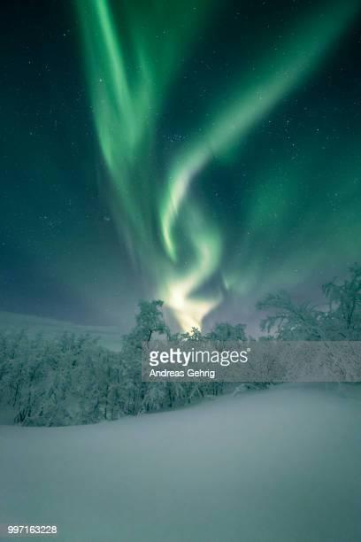 aurora borealis - norden stock-fotos und bilder