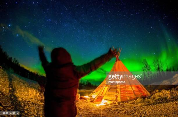 Aurora Borealis 、Tromsø、アークティックノルウェー