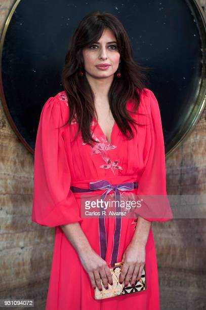 Aurora Carbonell attends 'La Tribu' premiere at the Capitol cinema on March 12 2018 in Madrid Spain