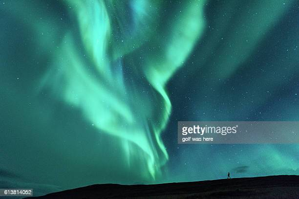 aurora display - majestic stock pictures, royalty-free photos & images