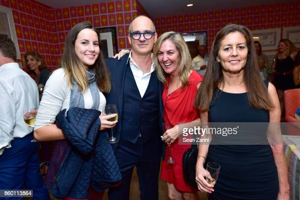 Aurora Fenwick David Brown Patricia Lizarraga and Cecilia Lizarraga attend the launch of The Collector Geneva's Sophie Bonvin Code Collection in...
