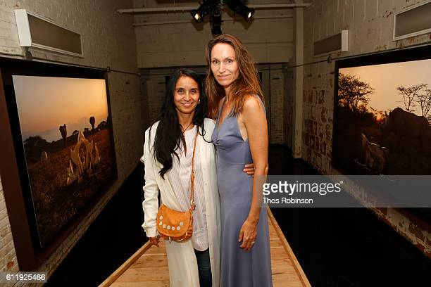 Aurora Lopez and Anne de Carbuccia attend ONE One Planet One Future at Bank Street Theater on September 13 2016 in New York City Aurora LopezAnna de...