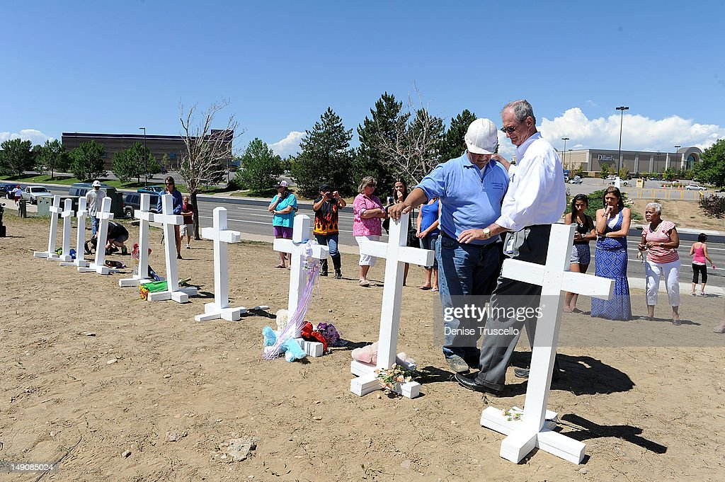 The City Of Aurora Remembers Victims Of The Theater Massacre - Aurora, CO : News Photo