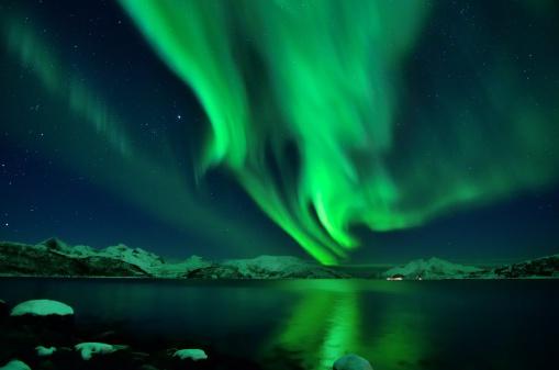 Aurora night - gettyimageskorea