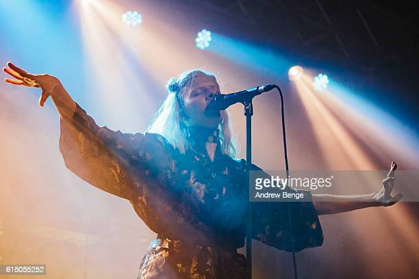 Aurora performs at University Union Stylus on October 16 2016 in Leeds England