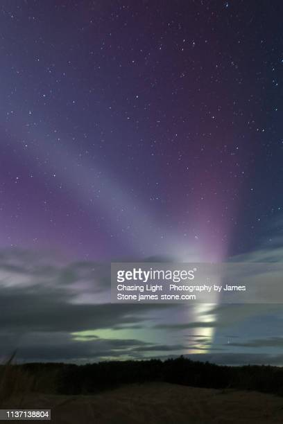 steve aurora phenomenon - light natural phenomenon stock pictures, royalty-free photos & images