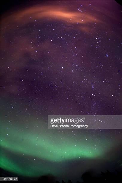 Aurora, Stars, Horizon