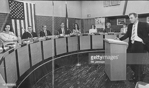 APR 26 1967 MAY 2 1967 MAY 3 1967 Aurora Youth Jury Deals Justice to Its Peers The Aurora Youth Jury established in late March holds session with...