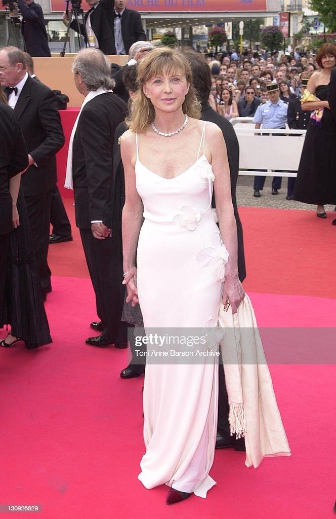 Aurore Clement during Cannes 2001 - Apocalypse Now Premiere at Palais des Festivals in Cannes, France.
