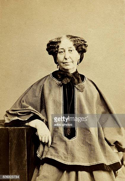Aurore Dupin baronness Dudevant called Georges Sand French novelist In 1864