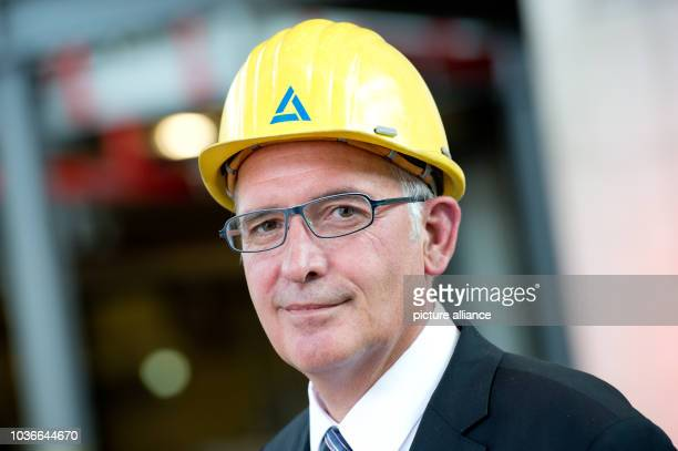 Aurubis chairman of the board Peter Willbrandt stands in his new plant for the recovery of precious metals at the copper company Aurubis in Hamburg...