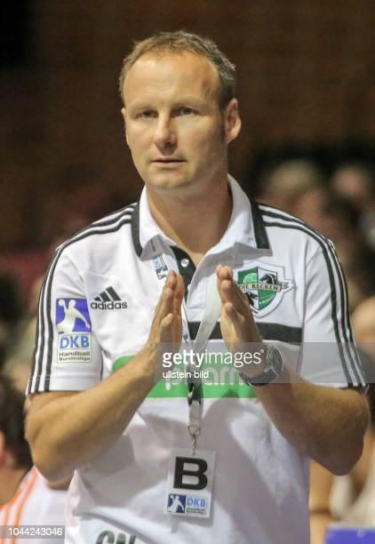 Aus 1 BL Handball Saison 2013/2014 Die Recken TSV HannoverBurgdorf gegen RheinNeckar Löwen 2638 Im Foto TSV Trainer Christopher Nordmeyer
