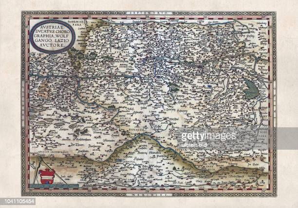 Theatrum Orbis Terrarum Antwerpen 1570 Das Kartenwerk von Ortelius gilt als der erste moderne und zugleich auch kommerziell erfolgreiche Atlas