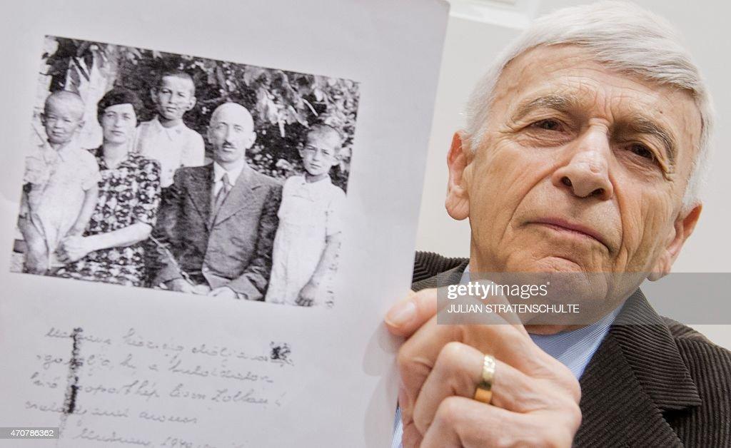 GERMANY-TRIAL-HOLOCAUST-NAZI : News Photo