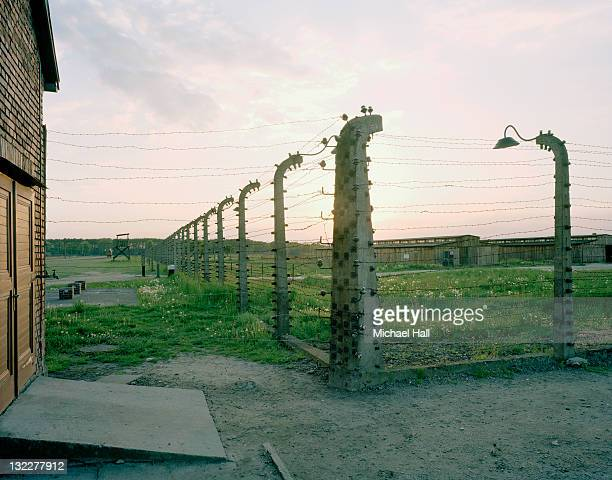 auschwitz-birkenau - birkenau stock pictures, royalty-free photos & images