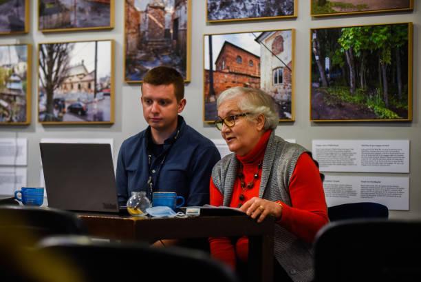 POL: Auschwitz-Birkenau Survivor Lidia Maksymowicz Speaks At Galicia Museum